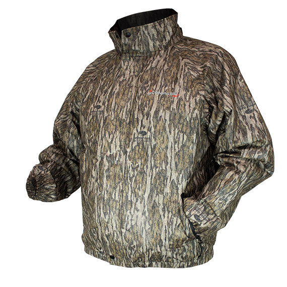 AdvantageTek Camo Jacket Bottomland