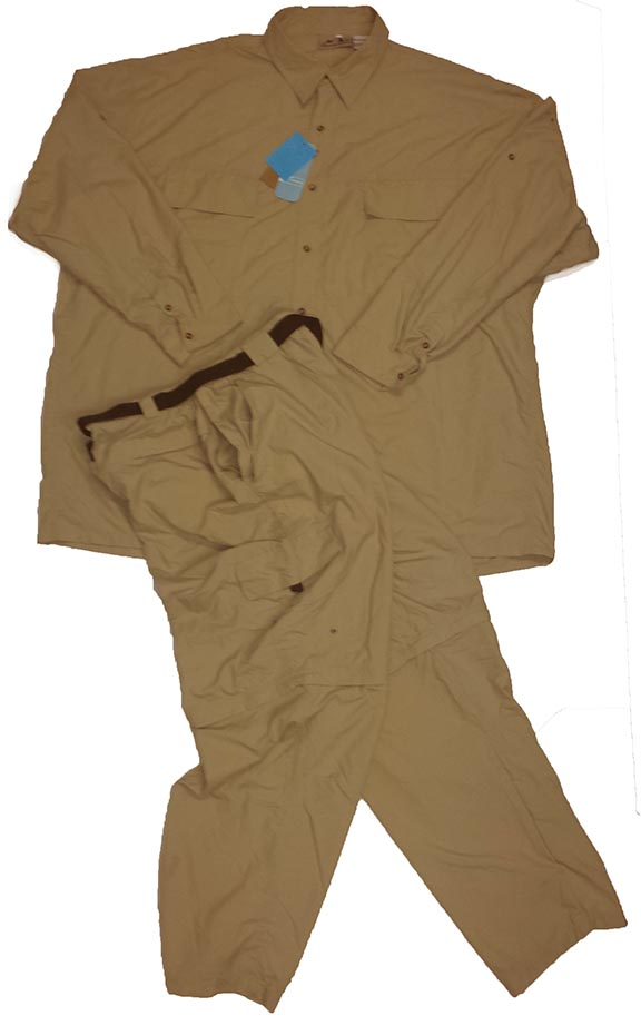 American outback lightweight big man fishing vented shirts for Lightweight fishing pants