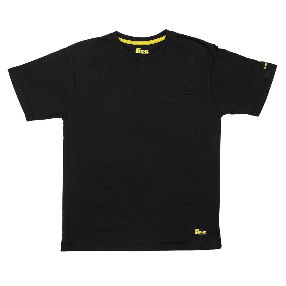Berne-Apparel-Big-Tall-Performance-Short-Sleeve-Shirt-Black