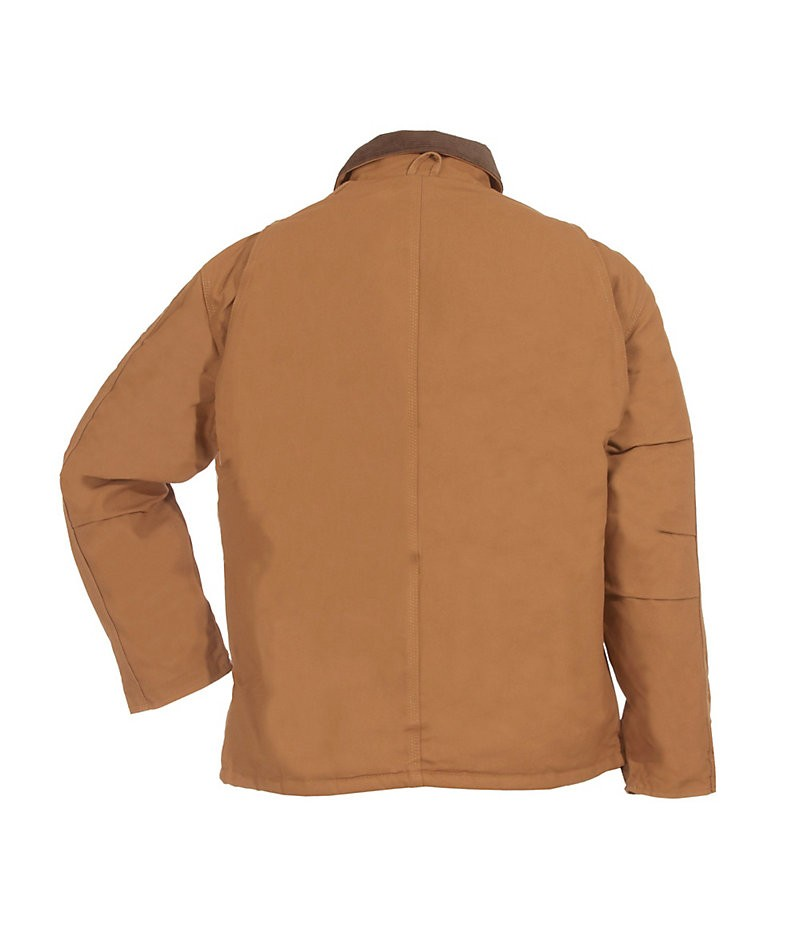 Chore Coat Brown Back