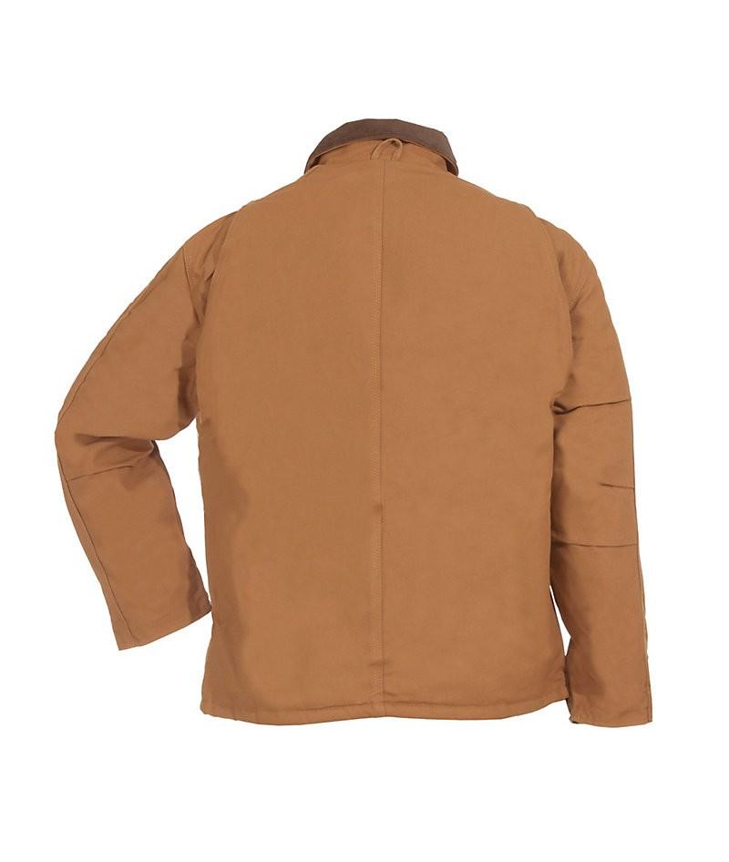 Chore Coat Brown Back