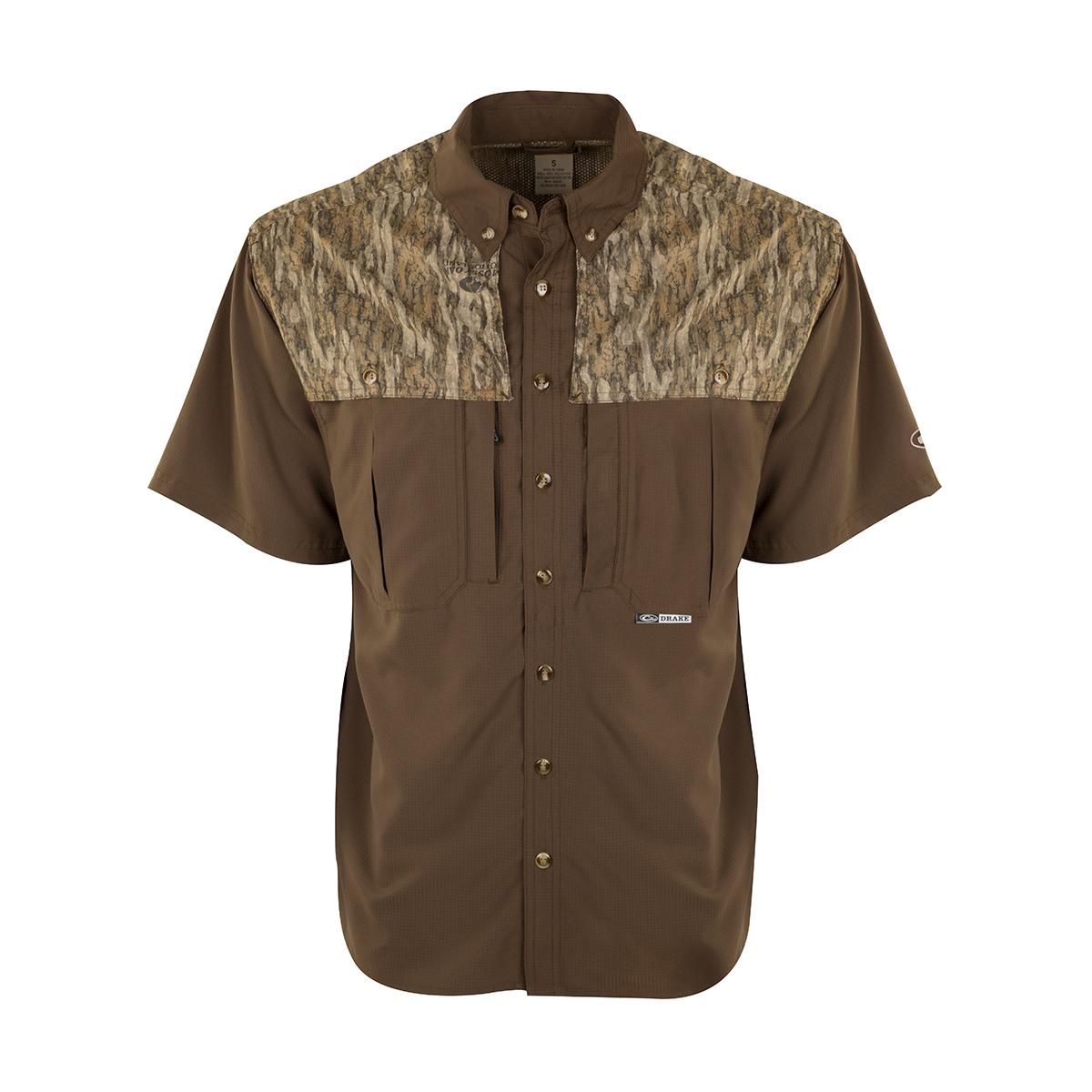 Bottomland-Two-Tone-Drake-Flyweight-Wingshooters-Shirt-SS-Big-Tall-BigCamo