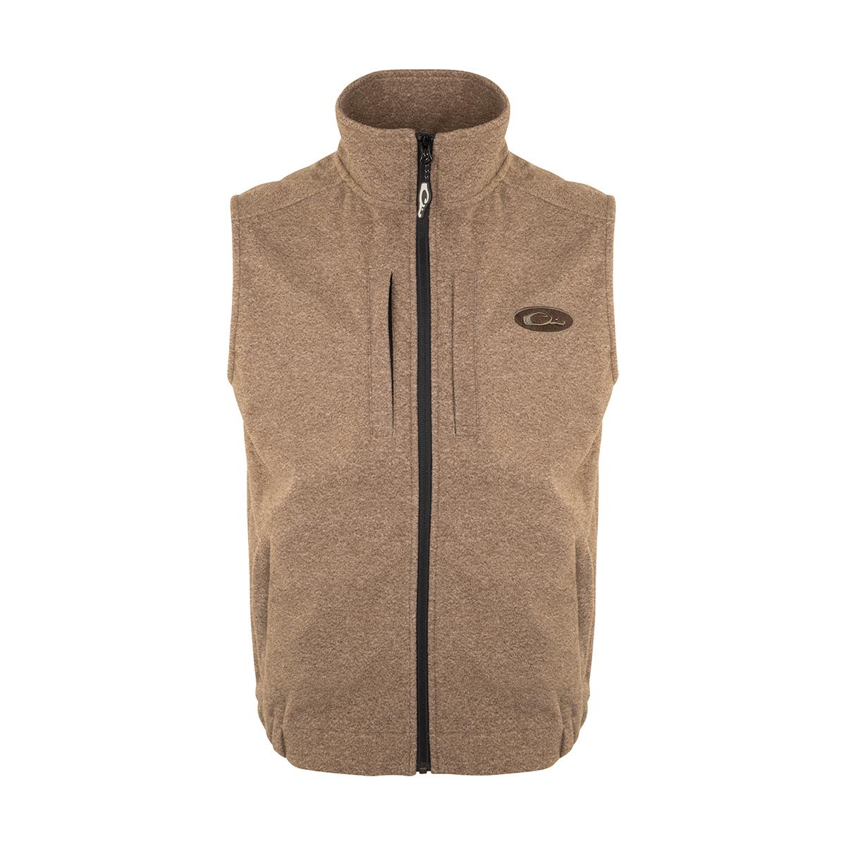 Brown-Drake-Waterfowl-Windproof-Layering-Vest-Big-Tall-BigCamo