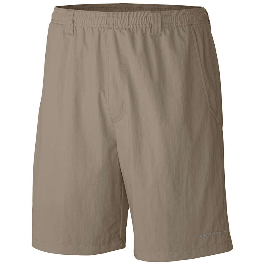 Columbia-Sportswear-Backcast-III-Water-Shorts-Big-Tall-Mens-Active-Fishing-Hunting-fossil