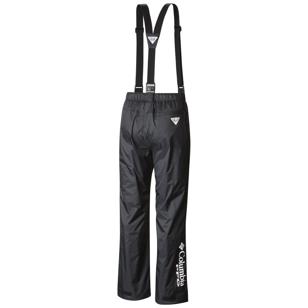 Columbia-Sportswear-Big-Tall-BigCamo-Fish-Waterproof-Rain--PFG-Storm-Bib-Pant-Back