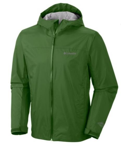 Columbia Sportswear Mens Waterproof EvaPOURation™ Rain Jacket