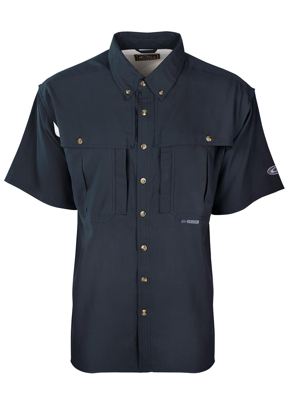 Drake-Flyweight-Wingshooters-Shirt-Navy-SS