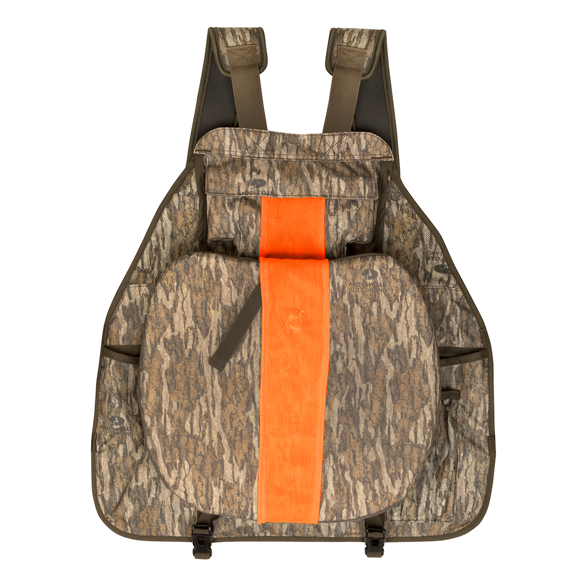 Drake-Ol-Tom-Easy-Rider-Turkey-Vest-Mossy-Oak-Bottomland-Back-Big-Tall-BigCamo