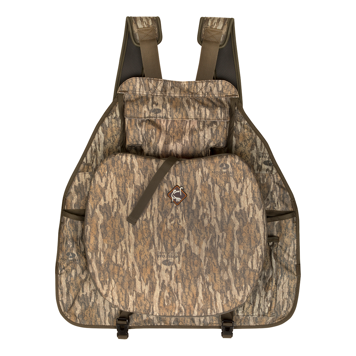 Drake-Ol-Tom-Easy-Rider-Turkey-Vest-Mossy-Oak-Bottomland-Seat-Big-Tall-BigCamo