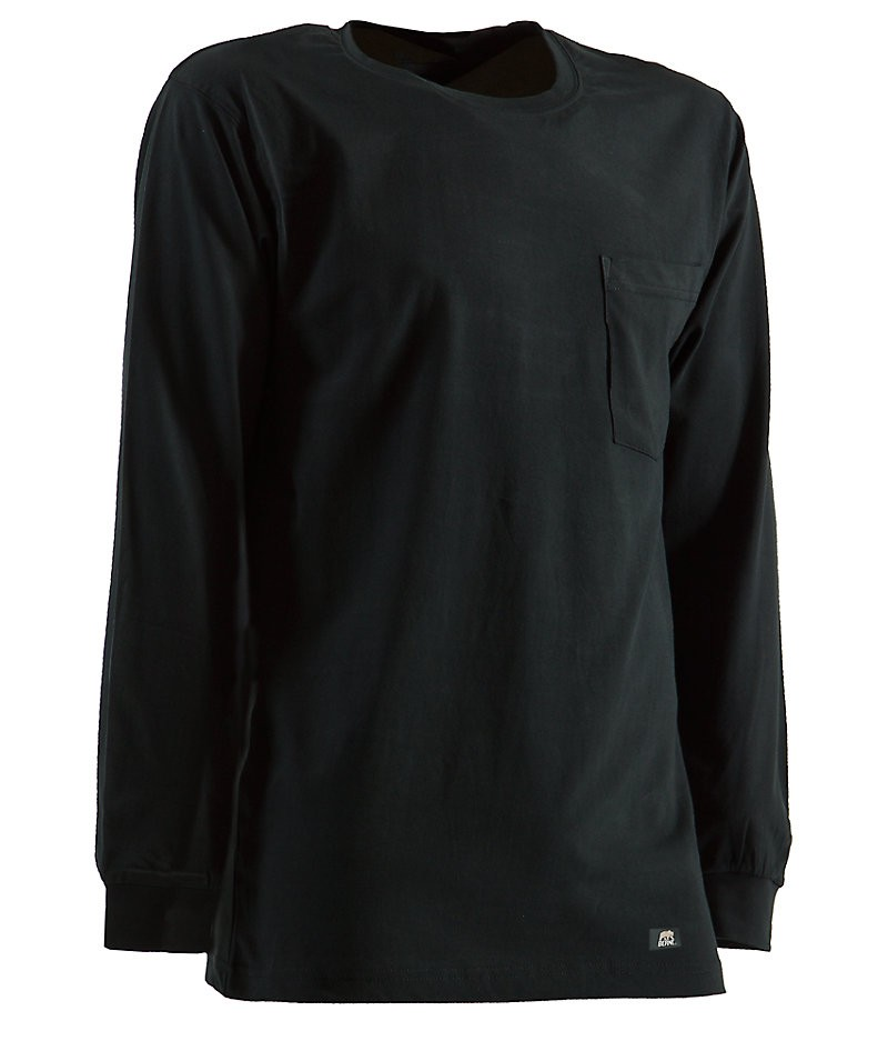 Heavy Long Sleeve Black