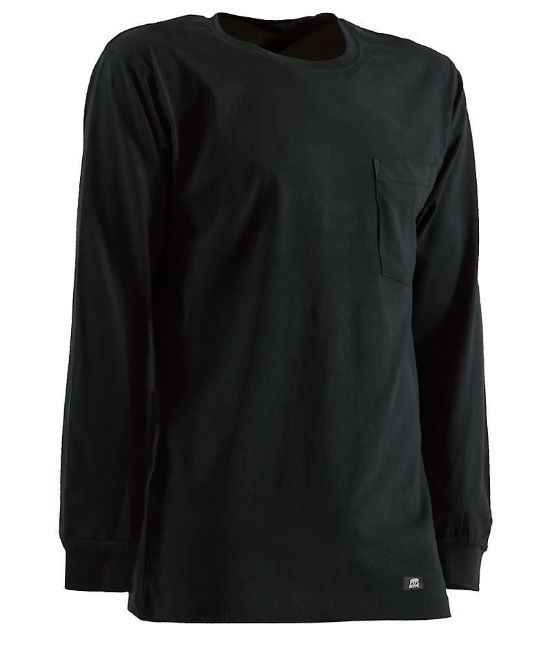 Heavy Long Sleeve Black
