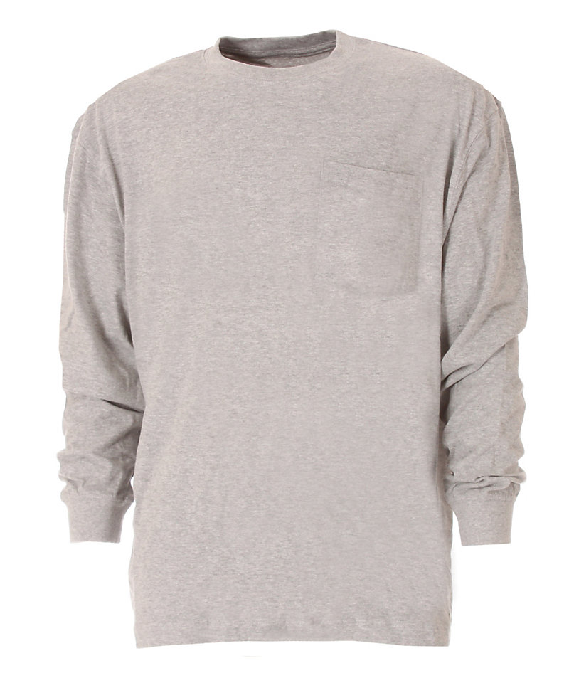 Heavy Long Sleeve Grey