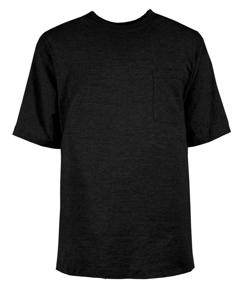 Heavy Short Sleeve Black