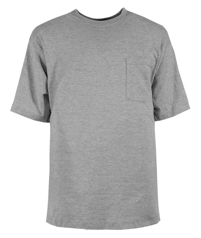 Heavy Short Sleeve Grey