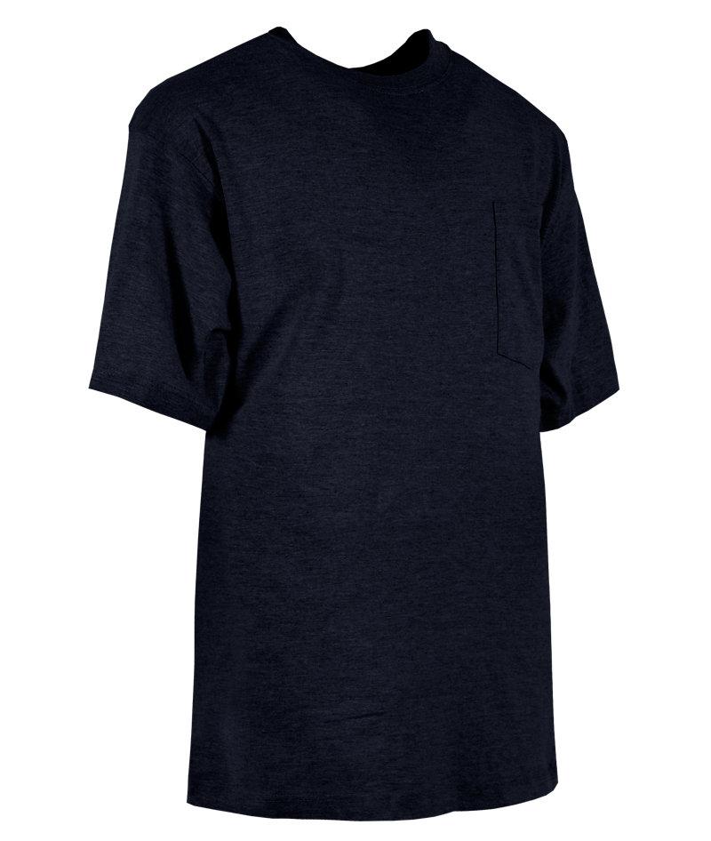 Heavy Short Sleeve Navy