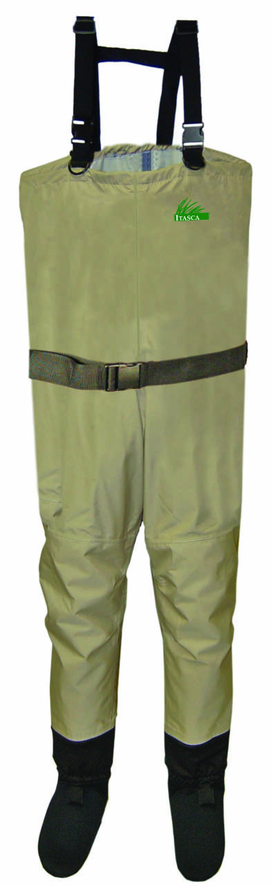 Itasca spring creek breathable big man waders up to 84 for Men s fishing waders