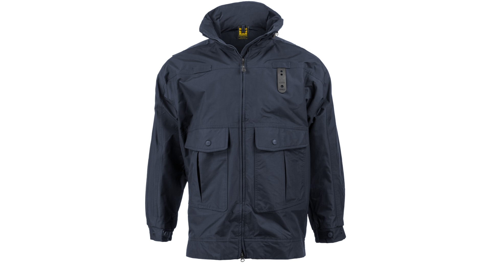 Gamma Jacket, Hood Stowed