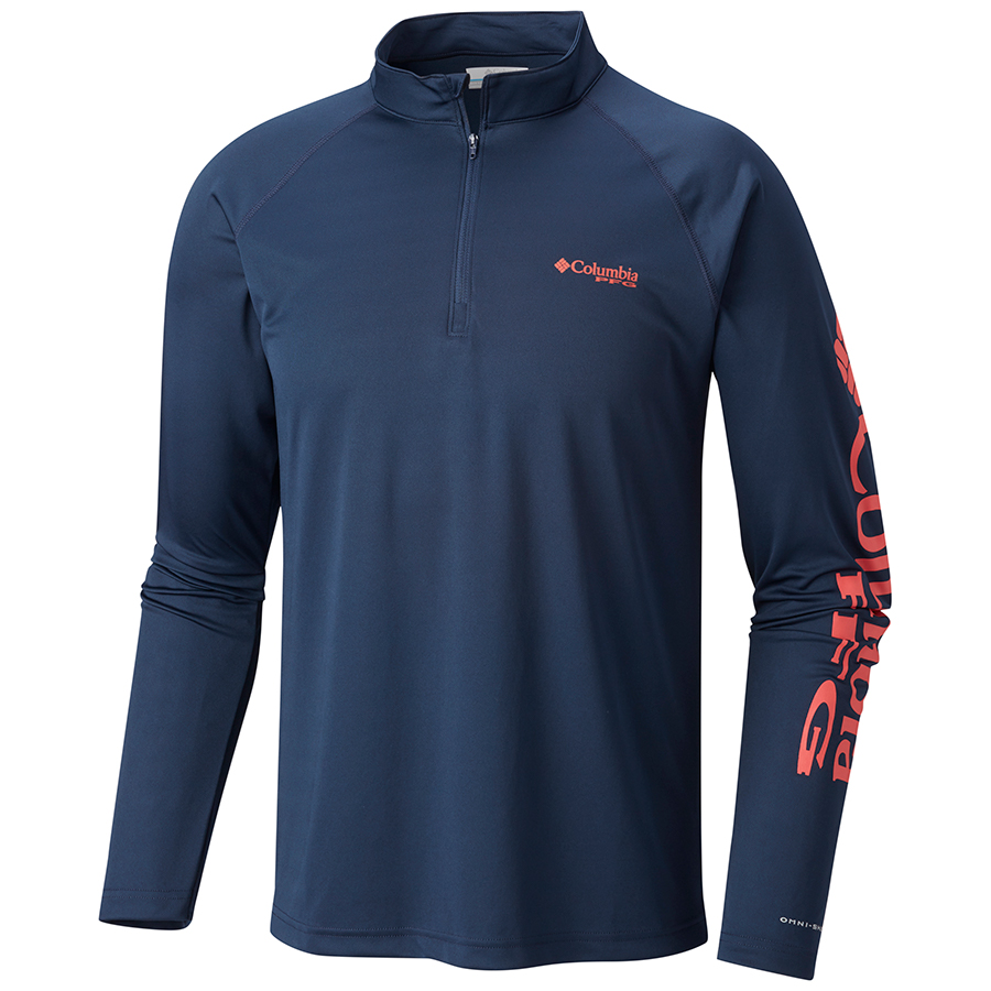 columbia-sportswear-terminal-tackle-quarter-zip-big-tall-bigcamo-navy-red