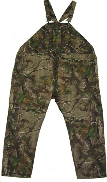 Realtree Uninsulated Camo Bib Overalls