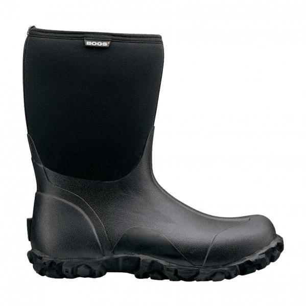 Bog-Boot-Mens-Classic-Mid-Black