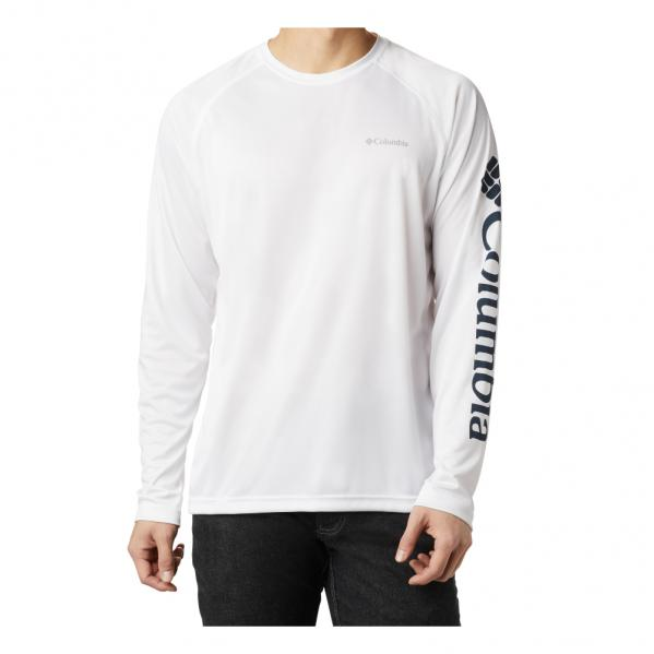 Columbia-Sportwear-Fork-Stream-Long-Sleeve-shirt-Quick-Dry-Big-Tall-Fish-UPF-BigCamo-White