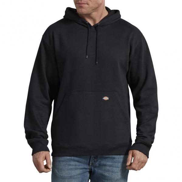 Dickies-Fleece-Pullover-Hoodie-Black