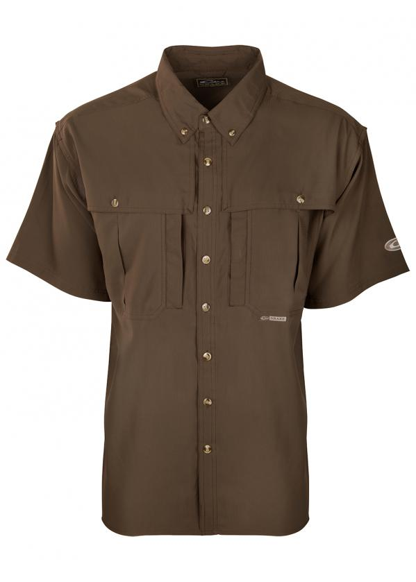 Drake-Flyweight-Wingshooters-Shirt-Olive-SS