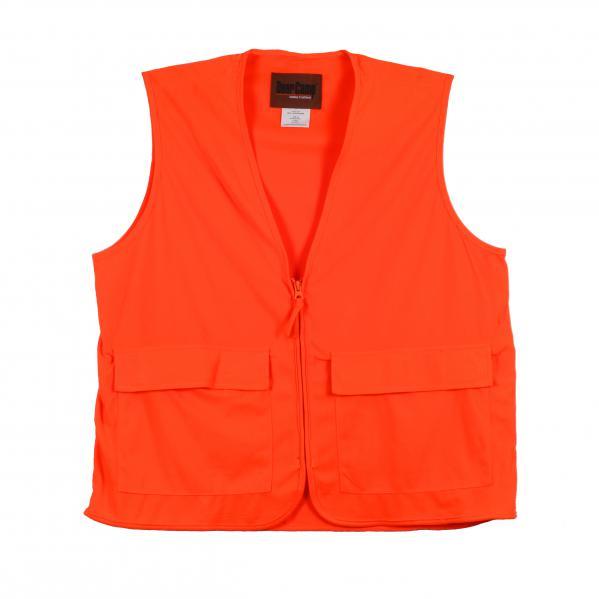 Gamehide-Deer-Camp-Vest-20P-Blaze-Safety-Vest-hunting-Big-Tall-BigCamo
