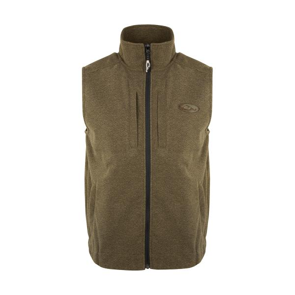 Olive-Drake-Waterfowl-Windproof-Layering-Vest-Big-Tall-BigCamo