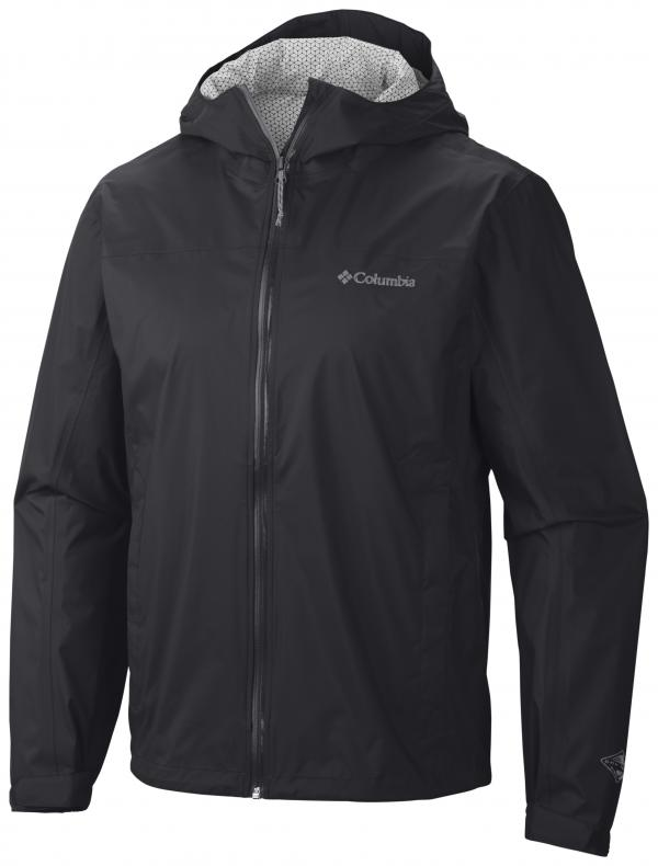 Columbia sportswear mens waterproof evapouration rain jacket for Mens fishing rain gear
