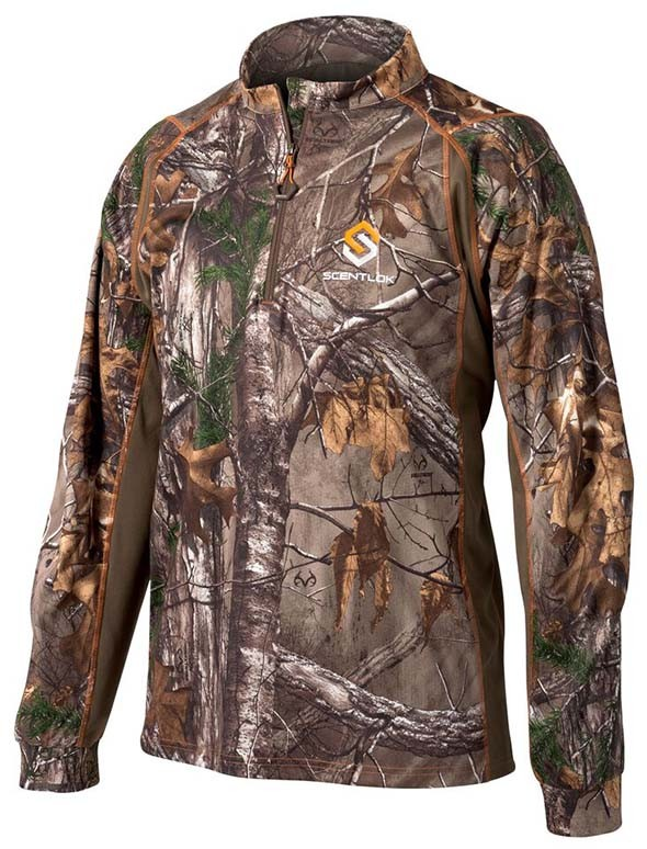Scent-Lok-2015-Attack-Quarter-Zip-Shirt-Mens-Big-Tall-Hunting-Warm-Realtree-Mossy-Oak-Camo-XTRA-Bottomland-Carbon-Alloy-Fleece-Front.jpg