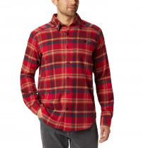 Columbia-Sportswear-Cornell-Woods-Mountain-Red-Flannel-Big-Tall-BigCamo