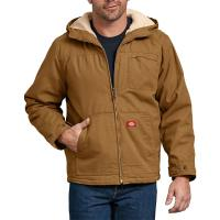 Dickies-Duck-Sherpa-Lined-Hooded-Jacket-Big-Tall-BigCamo-Brown-Duck