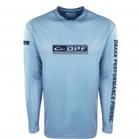 Drake-Performance-Fishing-Shield4-Arch-Mesh-Back-Crew-Big-Tall-Fish-Hunt-Light-Blue