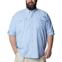 columbia-sportwear-bahama-long-sleeve-big-tall-fish-casual-big-tall-sail-blue