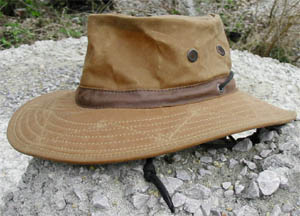 10oz Waxed Cotton Hat